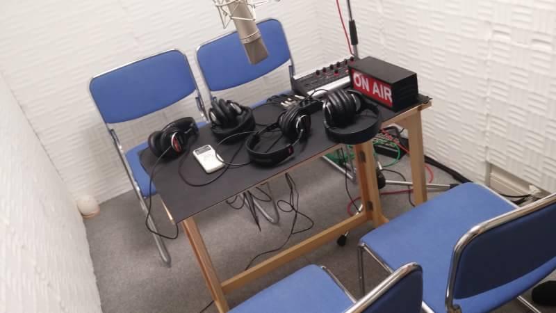 FMラジオ収録に大物ゲストお二人お呼びしました。