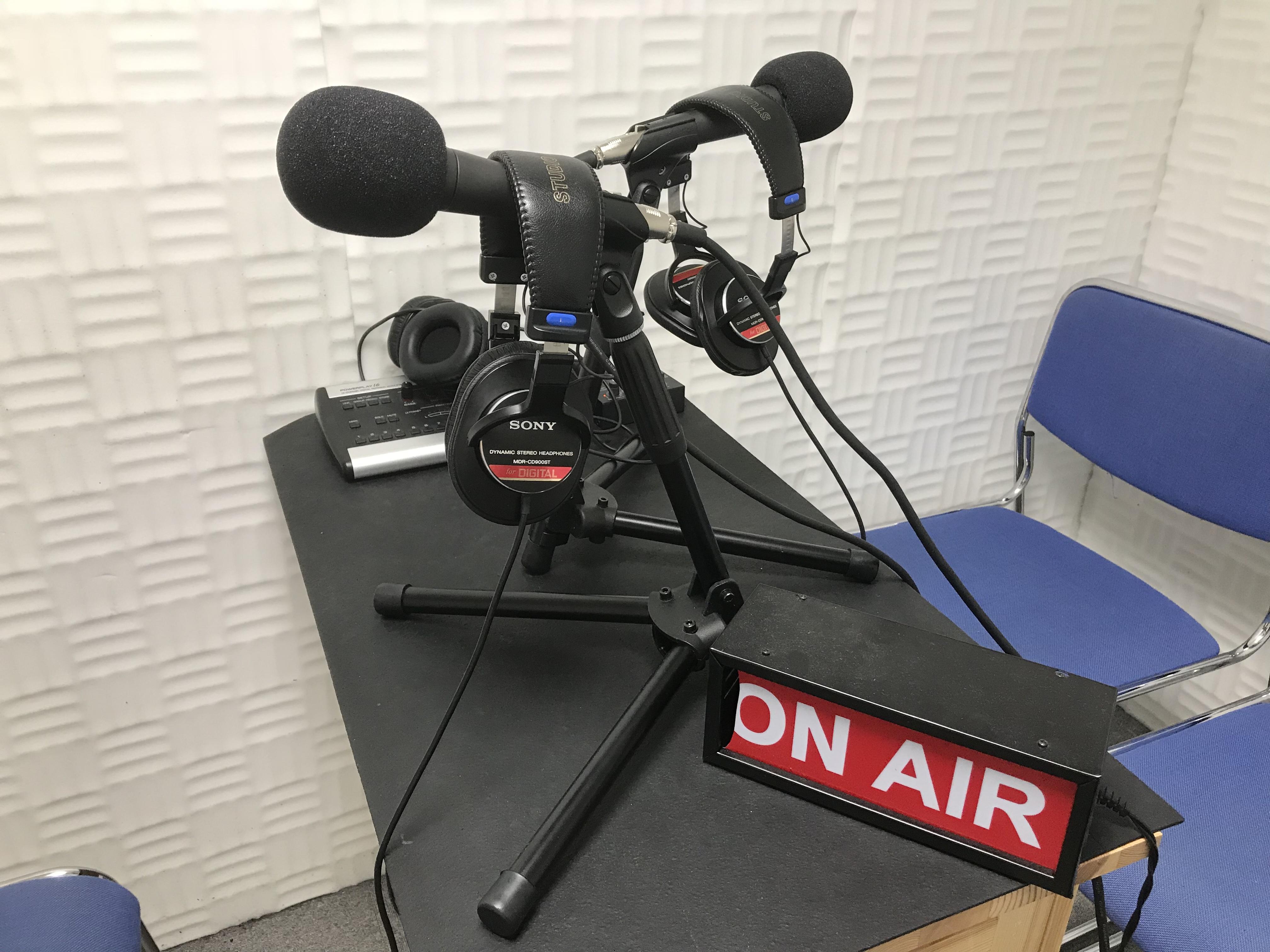 朗読演技ワークショップやラジオ収録、ボイスドラマの近況報告